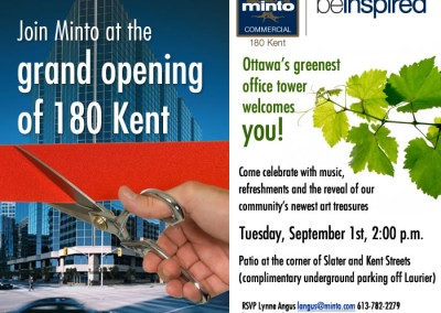 Minto Grand Opening Email