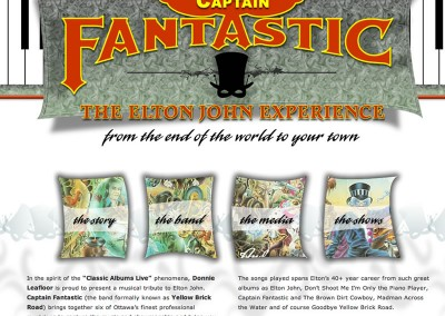 Captain Fantastic Website