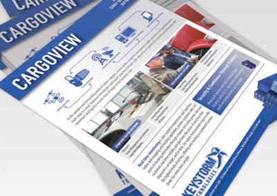 KeyStorm Cargoview Spec Sheet