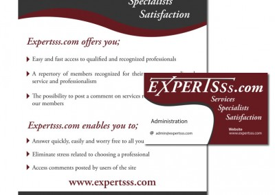 Expertsss.com Stationery