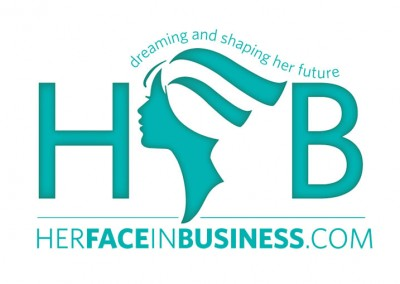 Her Face in Business Logo
