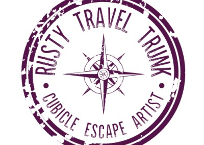 Rusty Travel Trunk Logo