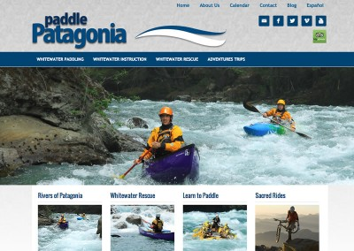 Paddle Patagonia Website