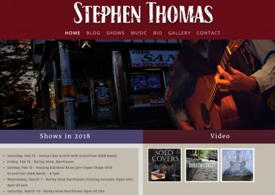 Stephen Thomas Music