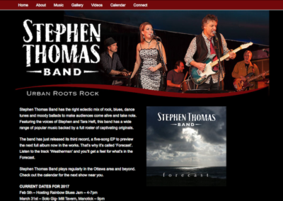 The Stephen Thomas band